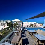 Pool und Terrasse Hotel Monte Gordo Algarve