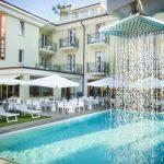 Pool Hotel Eden in Garda Fußball Trainingslager Gardasee