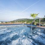 Swimmingpool Hotel Eden in Garda Fußball Trainingslager Gardasee