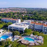 Blick auf die Hotelanlage Park Plaza Belvedere in Medulin