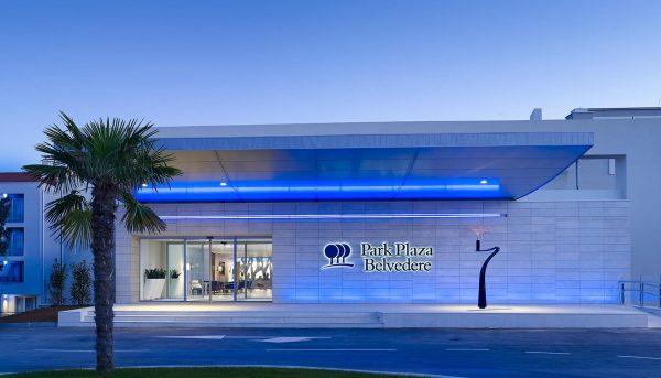 aussenansicht park plaza hotel belvedere in medulin