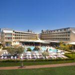aussenansicht hotel maestral fußball trainingslager kroatien