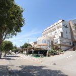 Blick von aussen auf das Hotel Marina in Crikvenica
