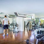 fitnessraum hotel maestral fußball trainingslager kroatien