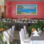 Restaurant im Hotel Marina in Crikvenica Fußball Trainingslager Kroatien