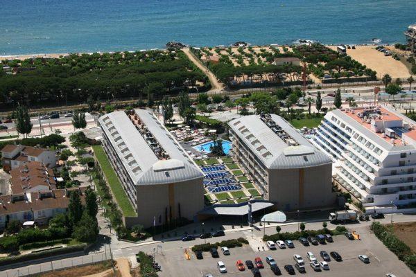 aussenansicht aqua hotels onabrava spanien