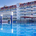 aussenpool hotel don angel fußball trainingslager spanien