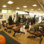 fitnessraum für fußball trainingslager hotel intur bonaire in benicasim