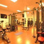 Fitnessraum Aparthotel Club Simo Fußball Trainingslager Mallorca