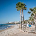 strand nahe des hotels intur bonaire in benicassim