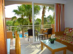 Balkon Aparthotel Club Simo Fußball Trainingslager Mallorca