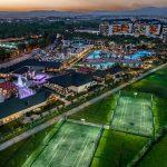 aussenanlage hotel trendy lara türkei fußball trainingslager