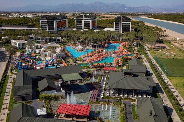 aussenanlage hotel trendy lara türkei