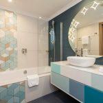 hilton malta deluxe room badezimmer