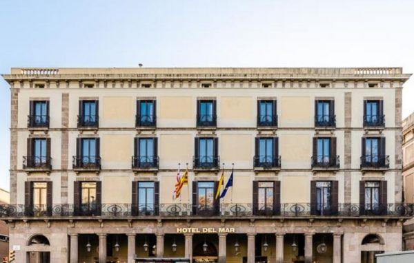 aussenansicht des Hotel del Mar in Barcelona