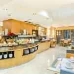 frühstücksbuffet im hotel del mar in barcelona